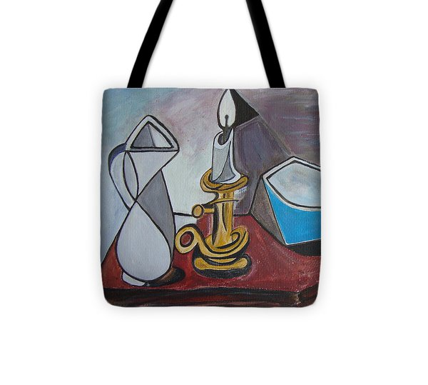 After Picasso Still Life With Casserole Tote Bag by Veronica Rickard