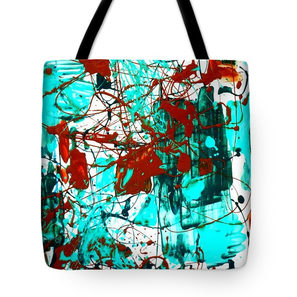 After Pollock Tote Bag