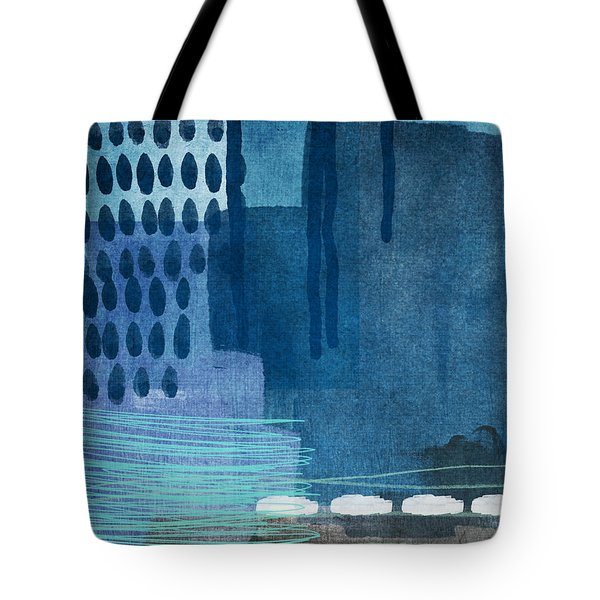 After Rain- Contemporary Abstract Painting  Tote Bag