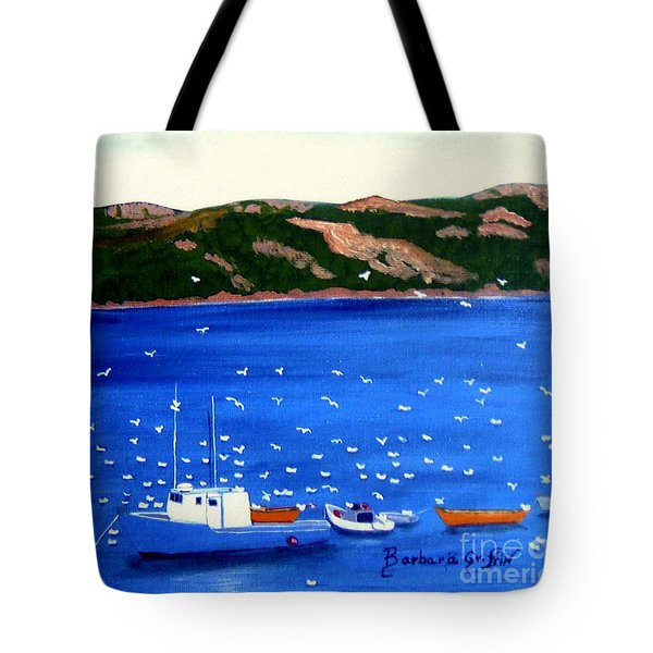After The Catch Tote Bag by Barbara Griffin