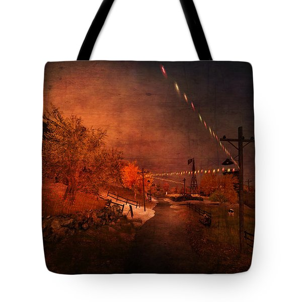 After The Fair Tote Bag by Kylie Sabra