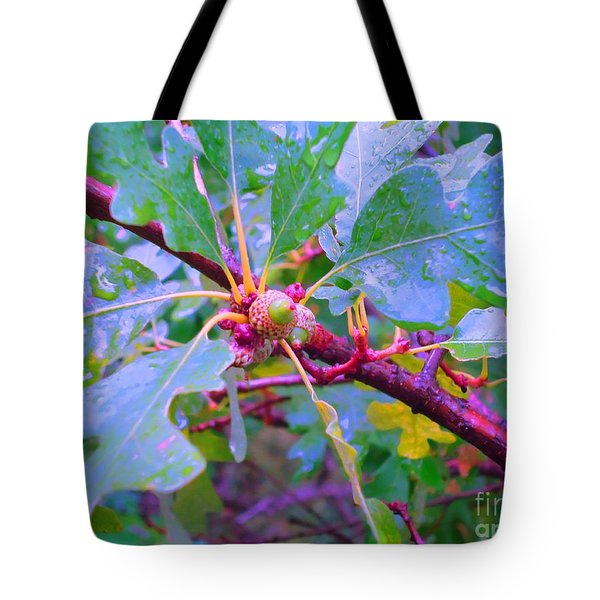 After The Morning Rain Tote Bag