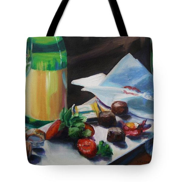 After The Party Tote Bag by Donna Tuten