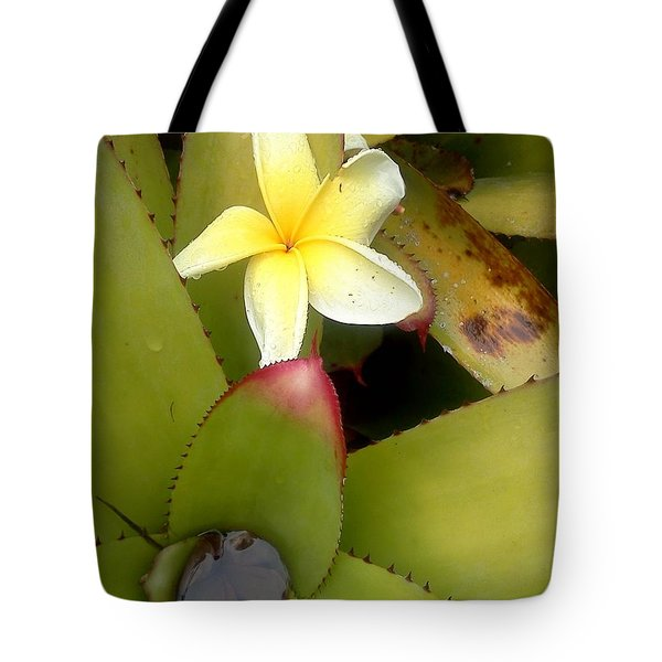 Fallen From The Rain  Tote Bag by K Simmons Luna