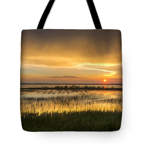 After The Rain Tote Bag by Debra and Dave Vanderlaan