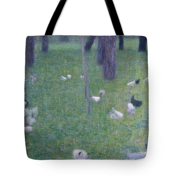 After The Rain Tote Bag by Gustav Klimt