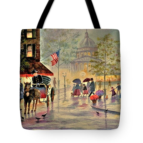 After The Rain Tote Bag by Marilyn Smith