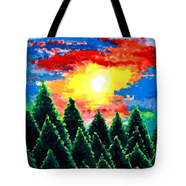 After The Rain Tote Bag by Thomas Gronowski