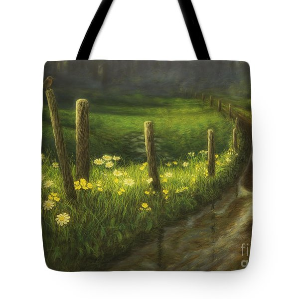 After The Rain Tote Bag by Veikko Suikkanen