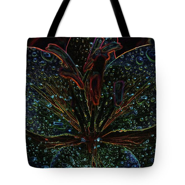 After The Rain With An Added Glow Tote Bag by Teri Schuster