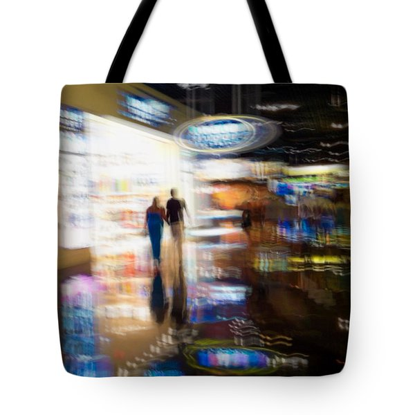 Tote Bag featuring the photograph After The Show by Alex Lapidus