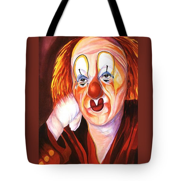 After The Show Tote Bag by Carolyn LeGrand