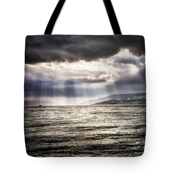 After The Storm Sea Of Galilee Israel Tote Bag