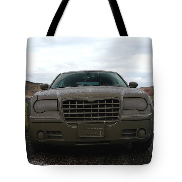Aftermath Of The Mud Flood And Suddenly Things Went Dark Tote Bag by Lon Casler Bixby