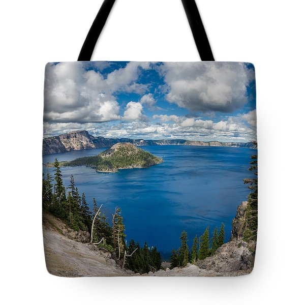 Afternoon At Discovery Point Tote Bag