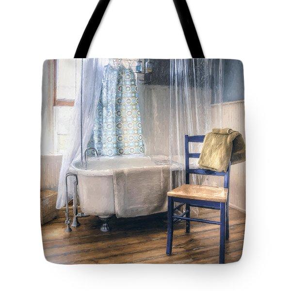 Afternoon Bath Tote Bag
