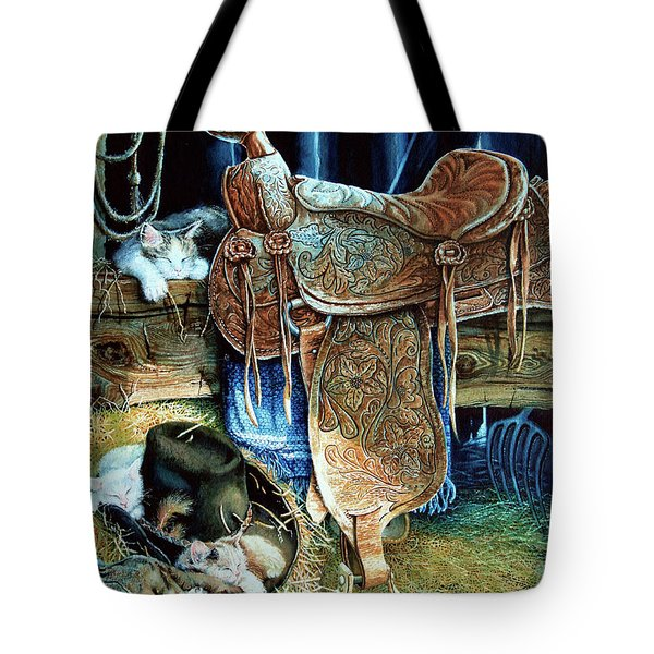 Afternoon Delight Tote Bag by Hanne Lore Koehler