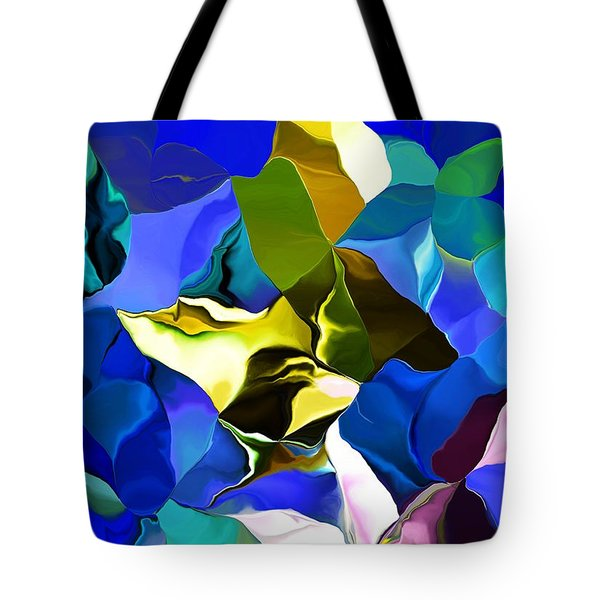 Tote Bag featuring the digital art Afternoon Doodle 020215 by David Lane