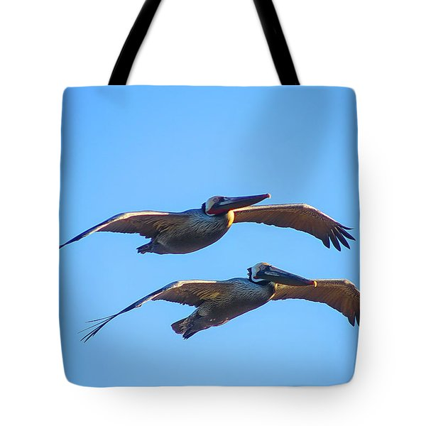 Afternoon Flight. Tote Bag