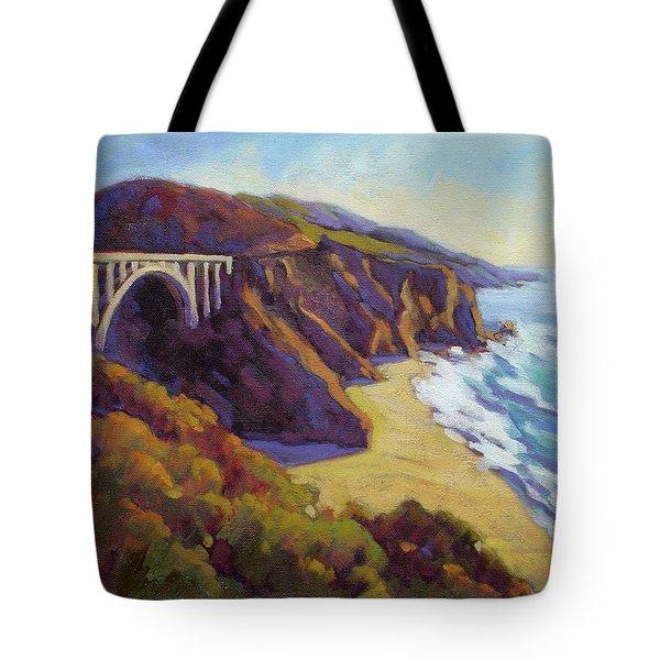 Afternoon Glow 3 Big Sur Tote Bag