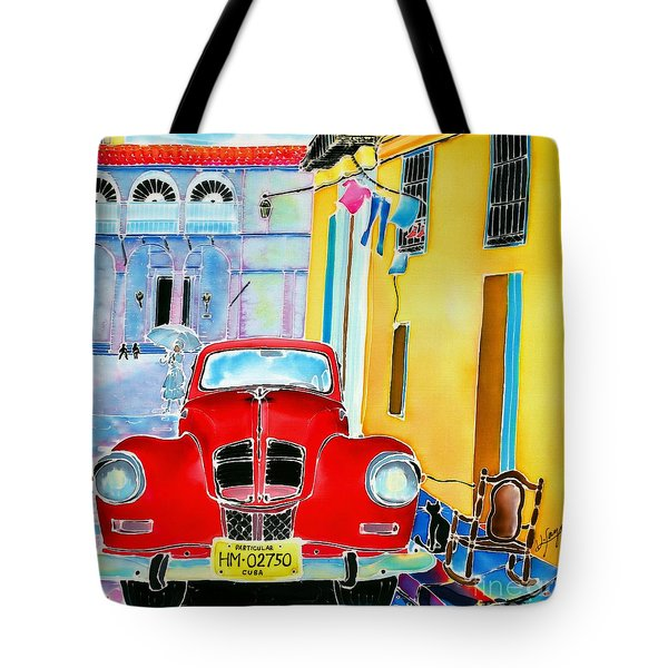 Afternoon In Havana Tote Bag