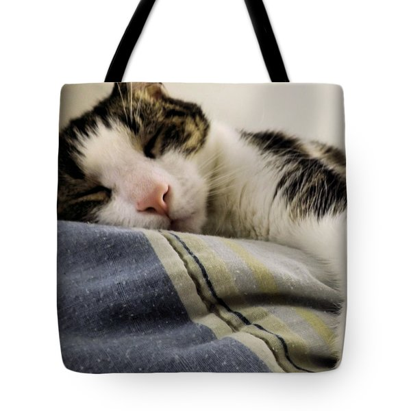 Tote Bag featuring the photograph Afternoon Nap by Robyn King