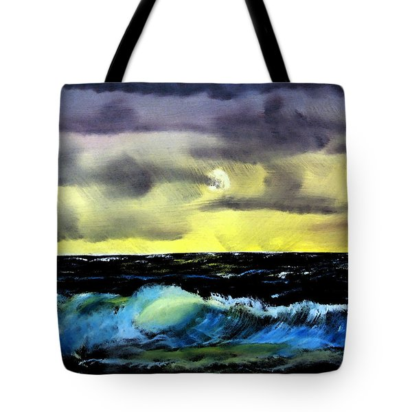 Afternoon On The Oceans Tote Bag