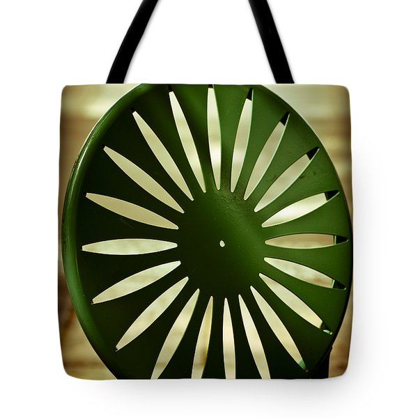Afternoon On The Terrace Tote Bag