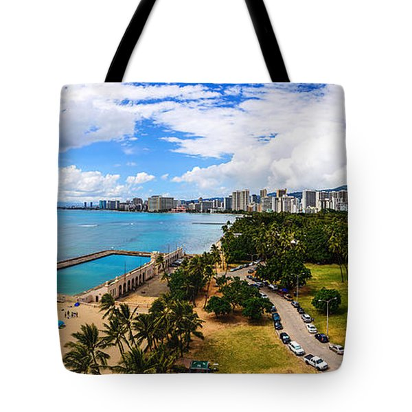 Afternoon On Waikiki Tote Bag