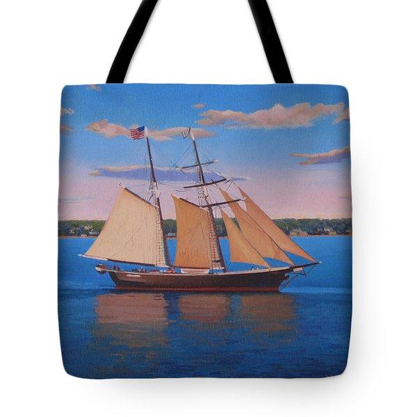 Afternoon Sail Tote Bag by Dianne Panarelli Miller