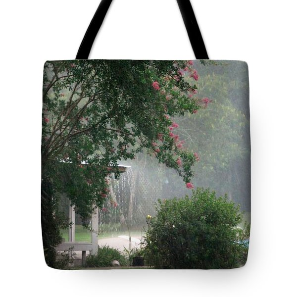 Afternoon Showers Tote Bag by N S