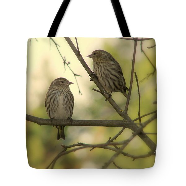 Afternoon Sit Tote Bag