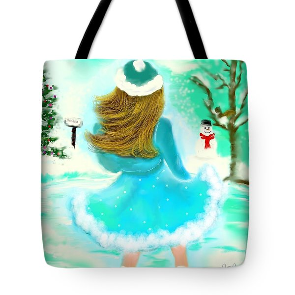 Tote Bag featuring the drawing Afternoon Skating by Lori  Lovetere