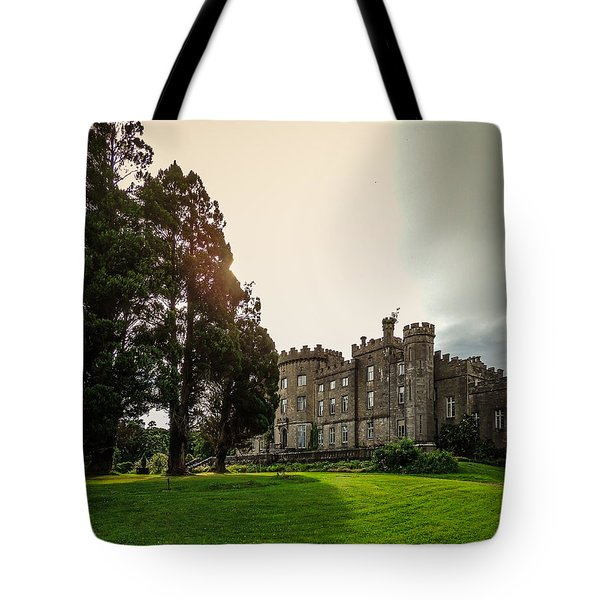 Afternoon Sun Over Markree Castle Tote Bag