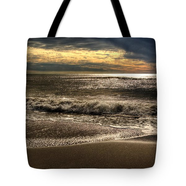 Tote Bag featuring the photograph Afternoon Swell by Julis Simo