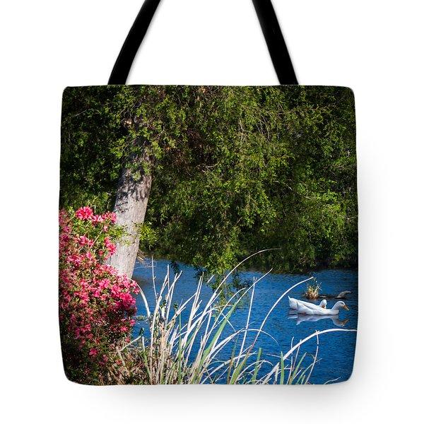 Afternoon Swim Tote Bag