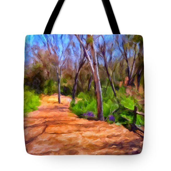 Afternoon Walk Tote Bag by Michael Pickett