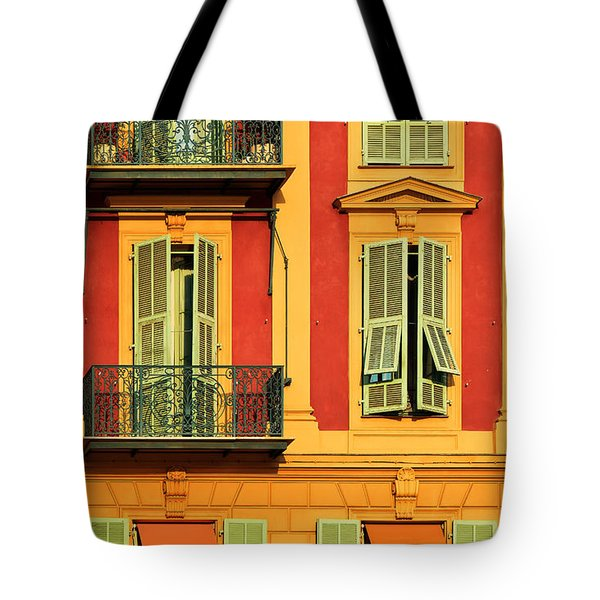 Afternoon Windows Tote Bag by Inge Johnsson