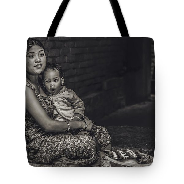 Afternoon Yawn Tote Bag
