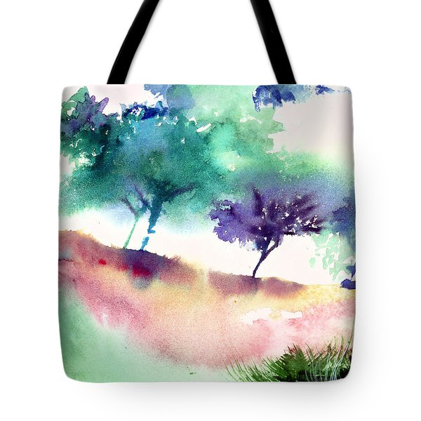 Against Light 1 Tote Bag by Anil Nene