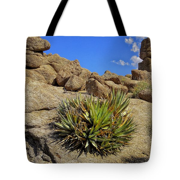 Tote Bag featuring the photograph Against The Odds by Michael Pickett