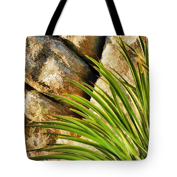 Against The Rocks Tote Bag by Scott Campbell
