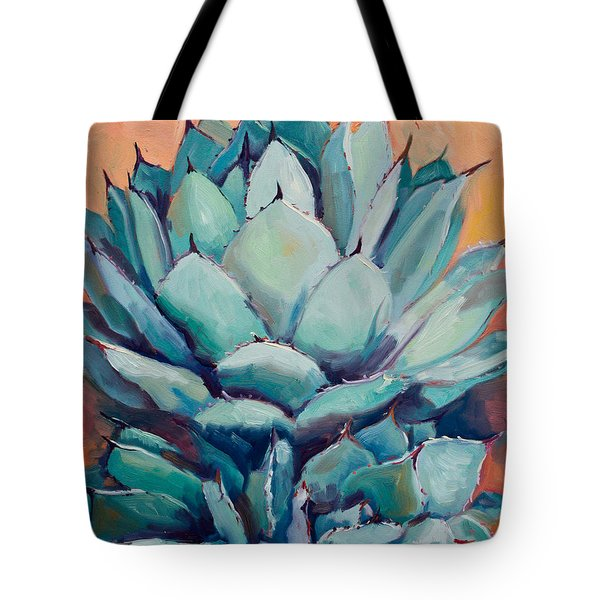 Agave With Pups Tote Bag