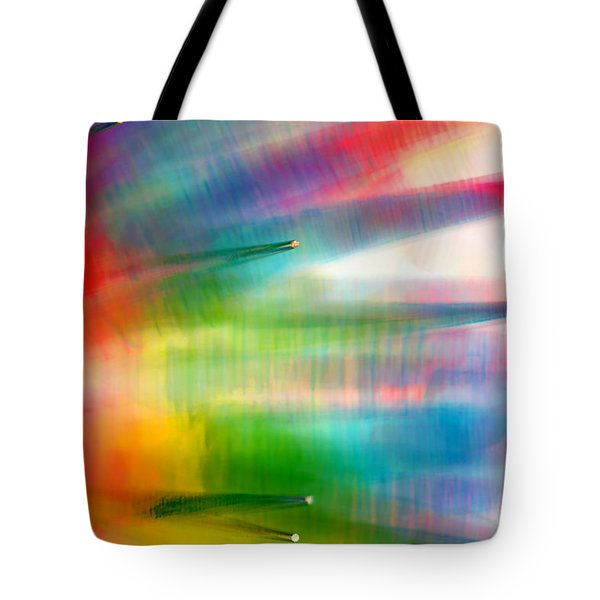 Age Of Aquarius Tote Bag by Dazzle Zazz