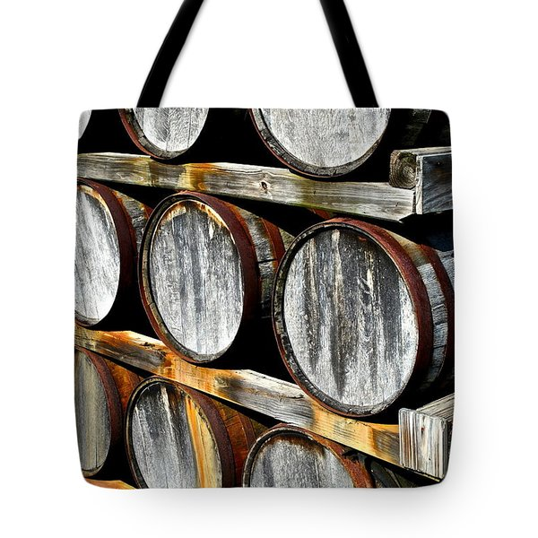 Aged Wine Tote Bag by Frozen in Time Fine Art Photography