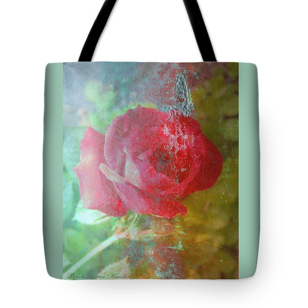 Ageless - Rose - Manipulated Images Tote Bag