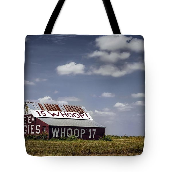 Aggie Barn Tote Bag by Joan Carroll