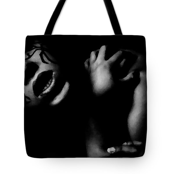 Aggressive Tote Bag by Jessica Shelton