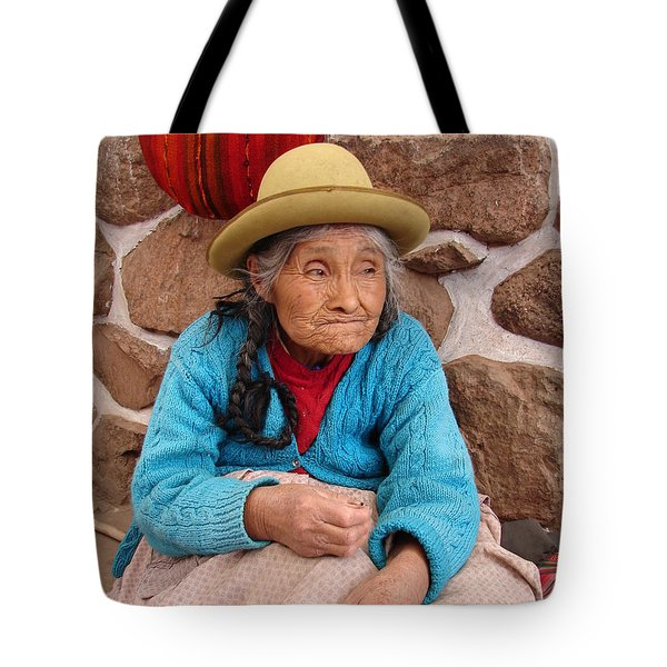 Aging Beautifully Tote Bag by Ramona Johnston