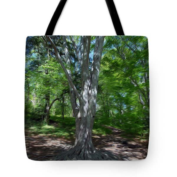 Tote Bag featuring the digital art Aging Gracefully by Kelvin Booker